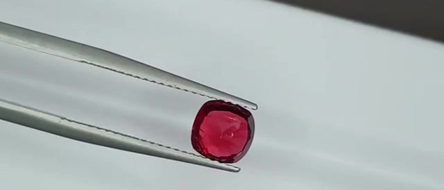 1.26cts Natural Red Spinel