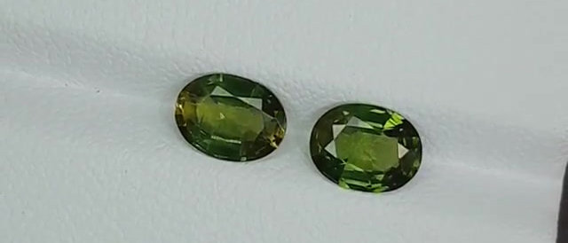2.74cts Green Sapphire