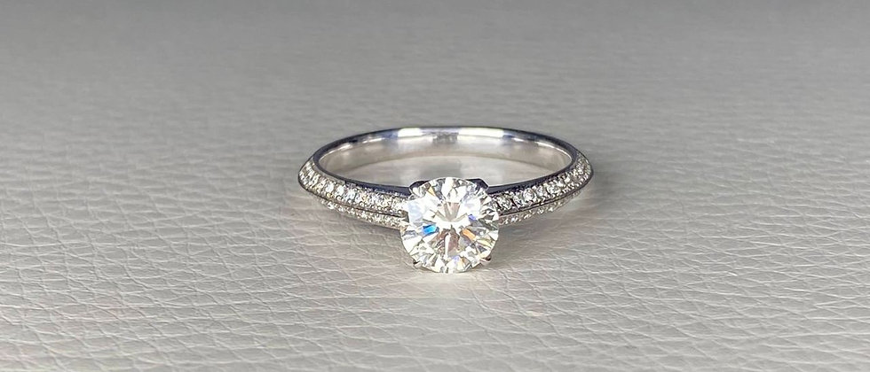 Certified Engagement Luster Ring