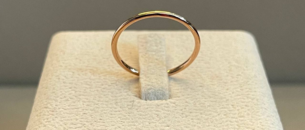 0.92g 14K Rose Gold Ring