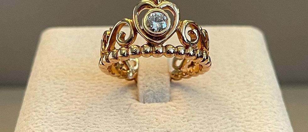 6.59g 18K Rose Gold Diamond Ring