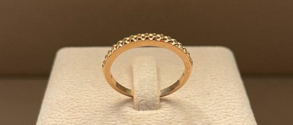 2.75g 18K Rose Gold Ring Mounting