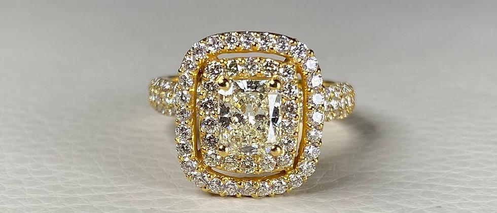 Exclusive Yellow Diamond Ring