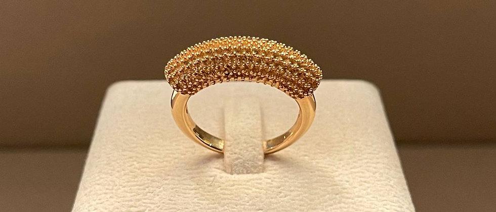 7.13g 18K Rose Gold Ring Mounting