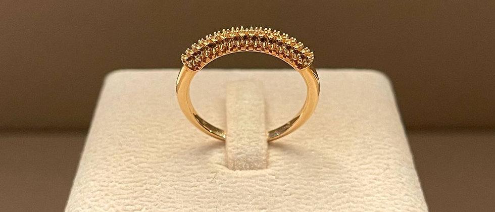 3.02g 18K Rose Gold Ring Mounting