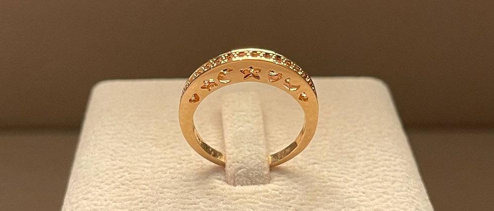2.74g 18K Rose Gold Ring Mounting