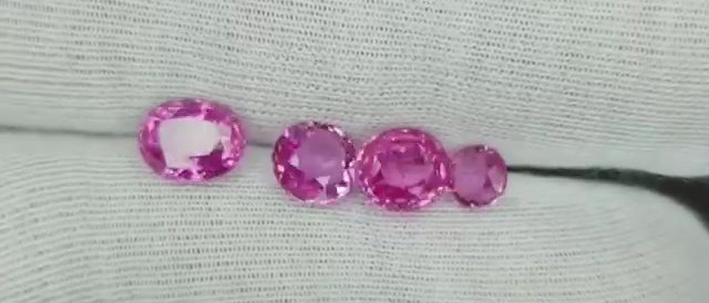7.64cts Natural Pink Sapphire