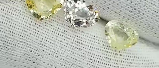 5.80cts Unheated Natural Yellow Sapphire