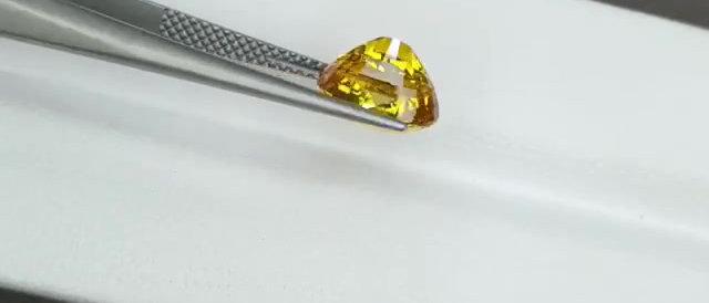 3.50cts Yellow Sapphire