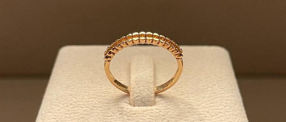 2.19g 18K Rose Gold Ring Mounting