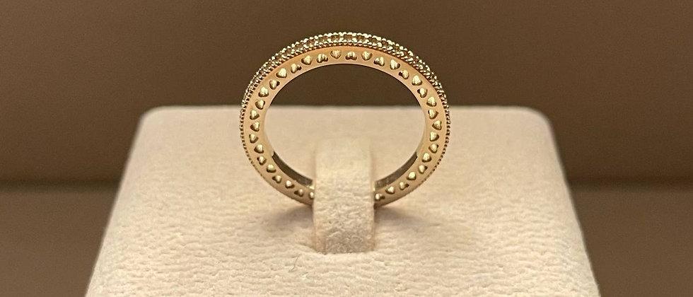 3.13g 18K White Gold Ring Mounting