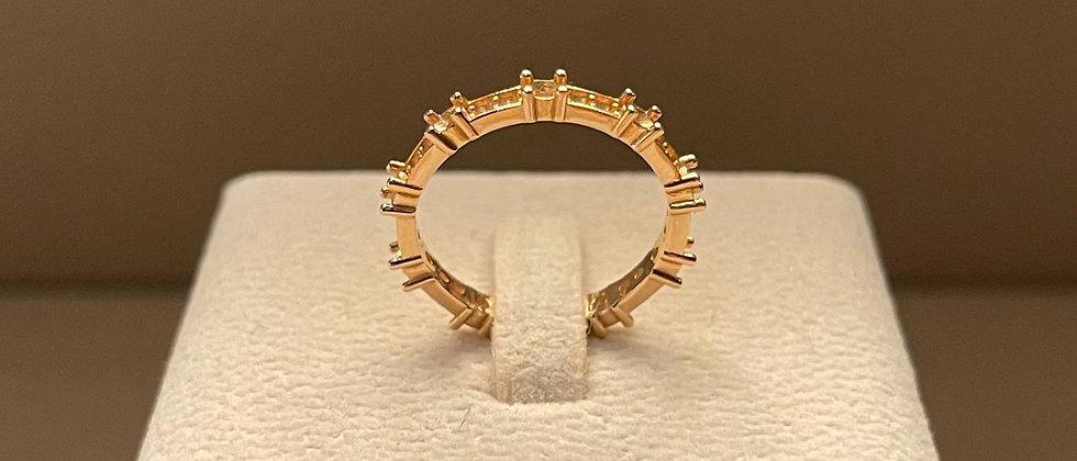 2.84g 18K Rose Gold Ring Mounting