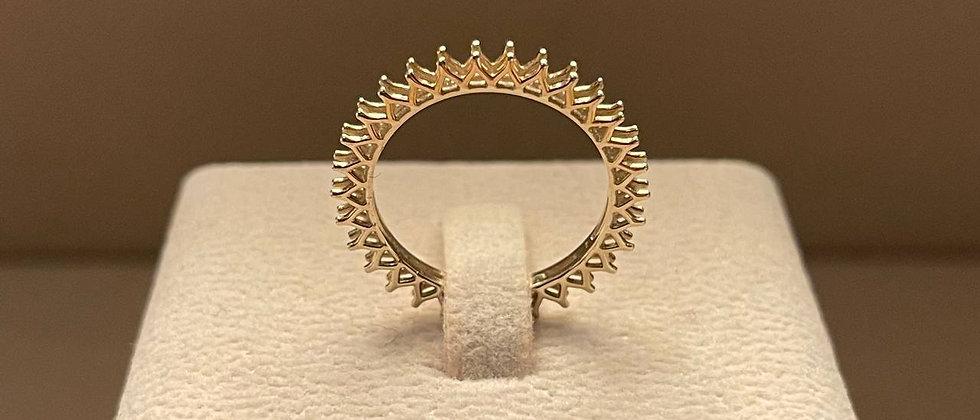 2.02g 18K White Gold Ring Mounting