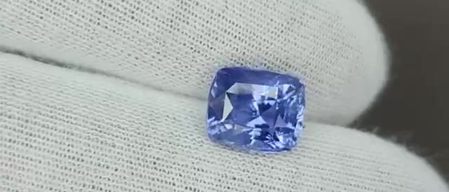 4.01cts Natural Blue Sapphire