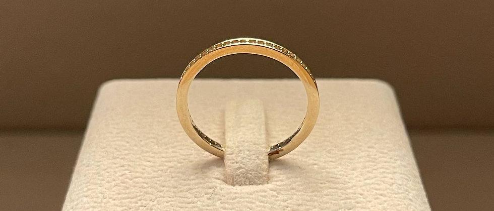 1.93g 18K White Gold Ring Mounting