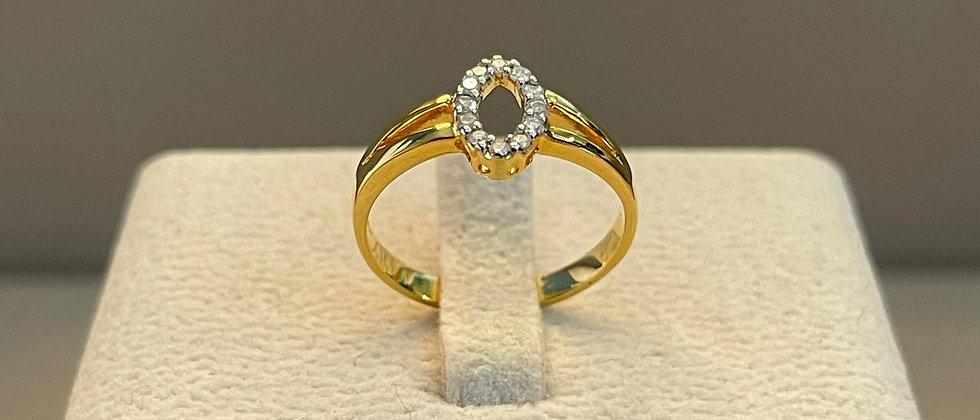 2.30g 14K Yellow Gold Ring
