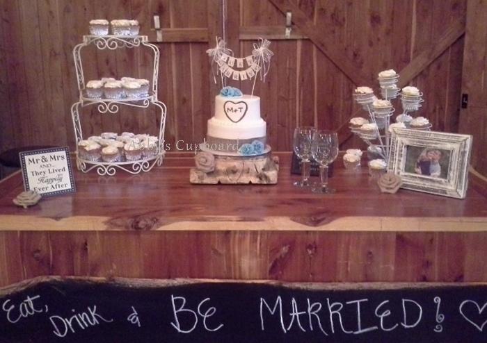 small cake & cupcakes 9_6_14