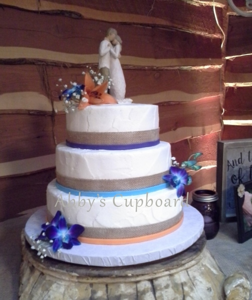 Multi-colored wedding cake9_3_16