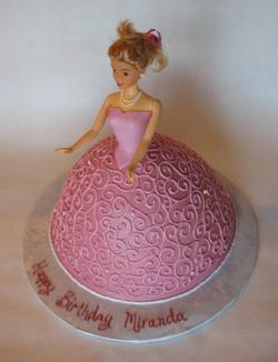 pink doll cake 1_11_14