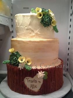 Woodland Bride's cake 4_16_16