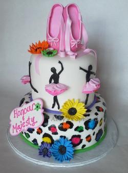 Dance cake 8_22_15