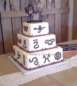 Bride's cake 10_17_15