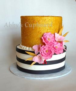 Pretty girly Grad cake 5_13_17