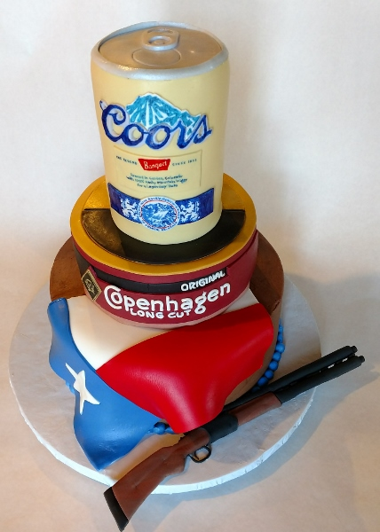 Texas Groom's cake
