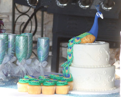 Peacock Wedding Cake 11_19_17