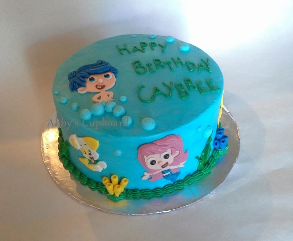 Bubble Guppies cake 9_5_14