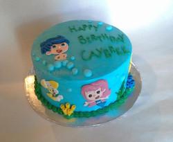 Bubble Guppies cake 9_5_14
