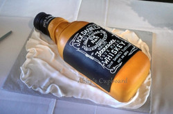 Whisky bottle Groom's cake 10_25_14
