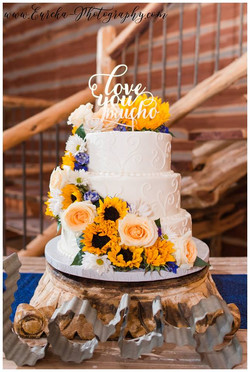 Sunflower Wedding cake 4_1_17