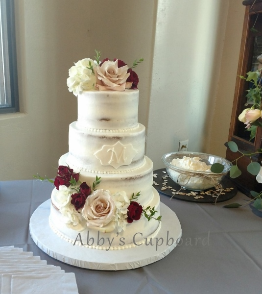 Naked Bride's cake