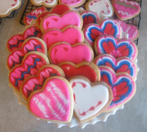 valentine cookies 2014
