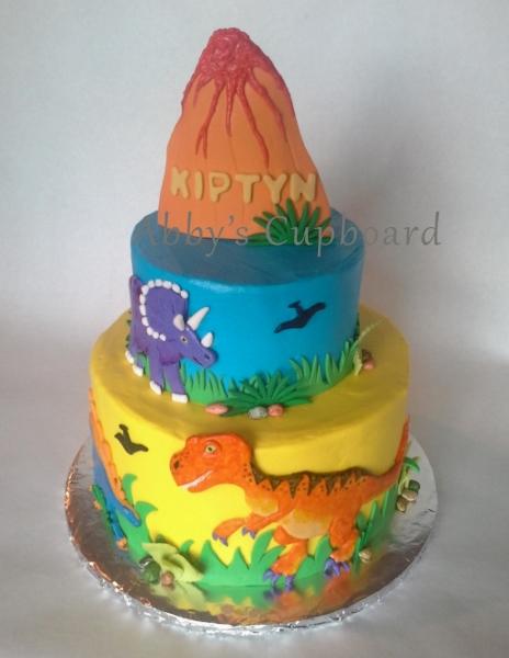 Dino cake 9_24_16