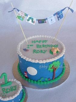 story book with smash cake 11_1_14