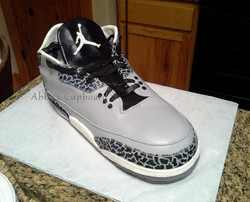 Air Jordan Groom's cake