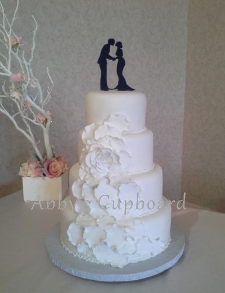 MJ bride'sWedding cake 1_16_16