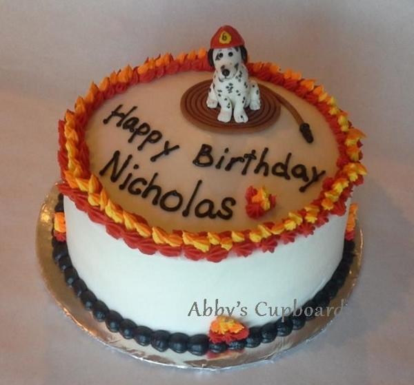 fire dog cake 5_5_14