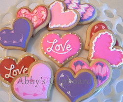 Valentine's cookies 2016
