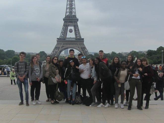 Voyage Roy d'Espagne Paris 2016