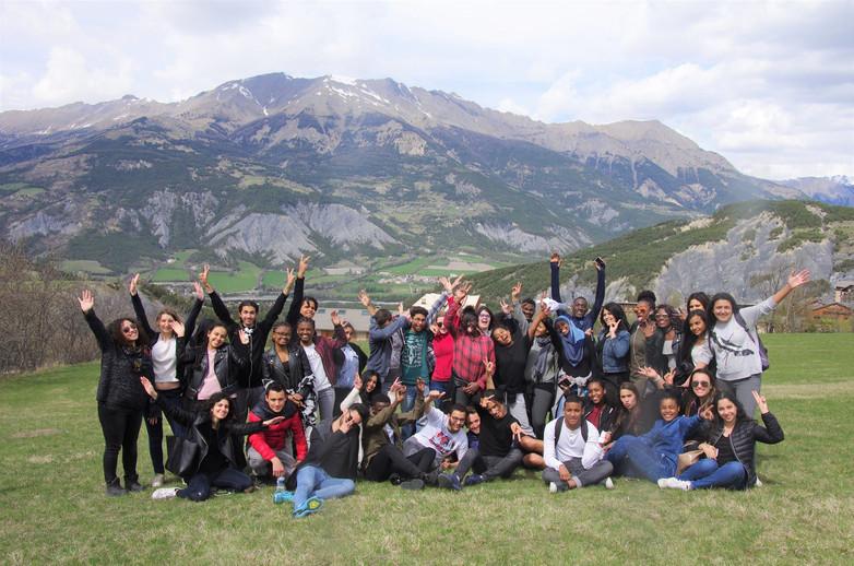 Voyage ACSE révision massif des Alpes 2017