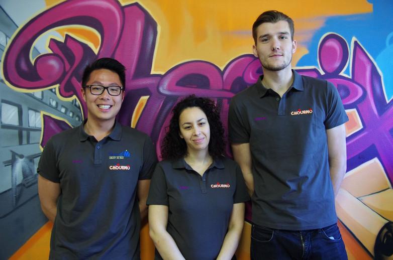 Equipe tuteurs Chourmo 2017