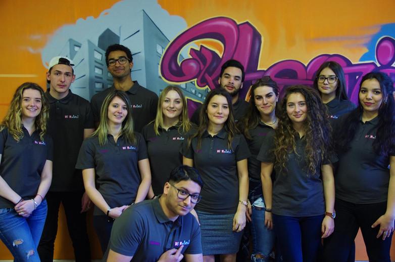 Equipe tuteurs Saint Gabriel 2017