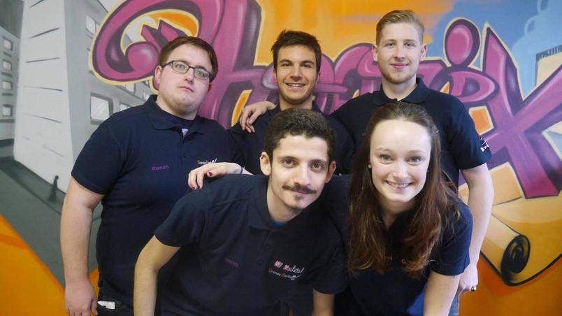 Equipe tuteurs Grande Bastide 2016