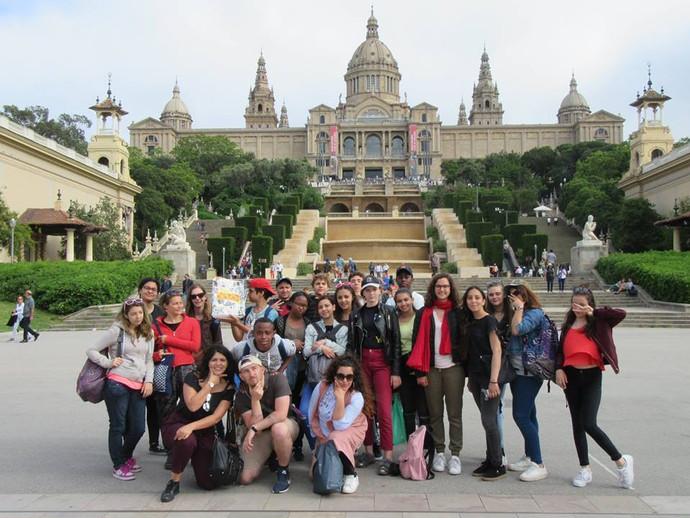 Voyage Roy d'Espagne Barcelone 2017