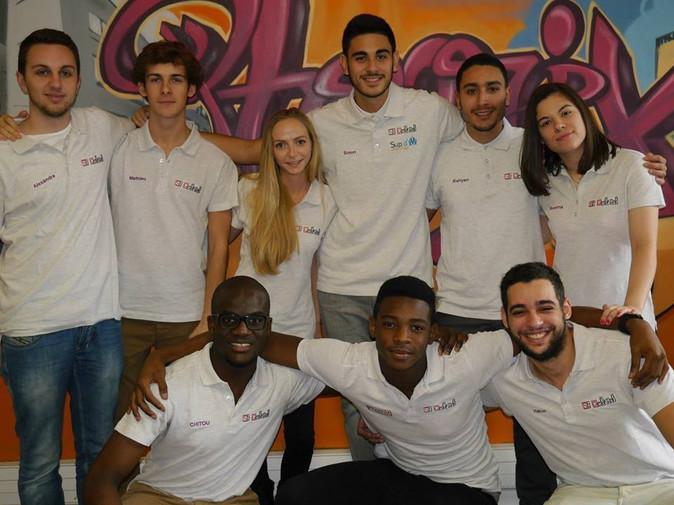 Equipe tuteurs Saint Gabriel 2015
