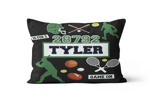 WS My Camp Sports Pillowcase
