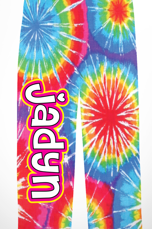 Youth Tie Dye PJ Pants